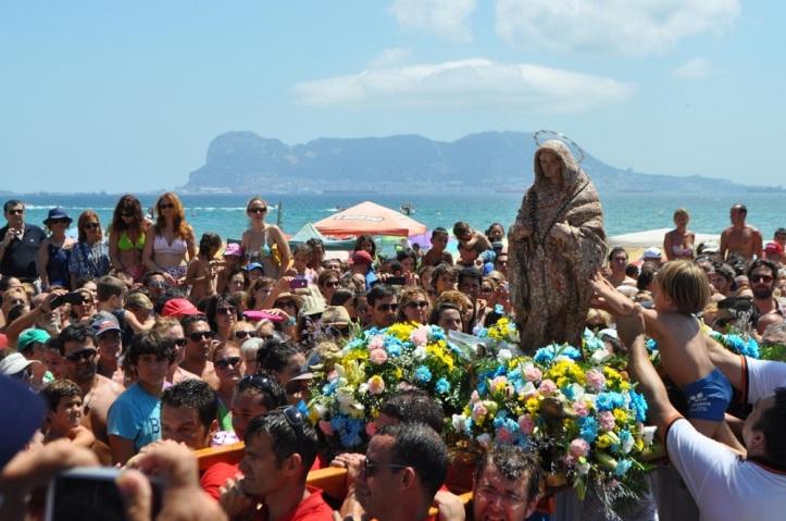 La Virgen de la Palma en  Rinconcillo de Algeciras